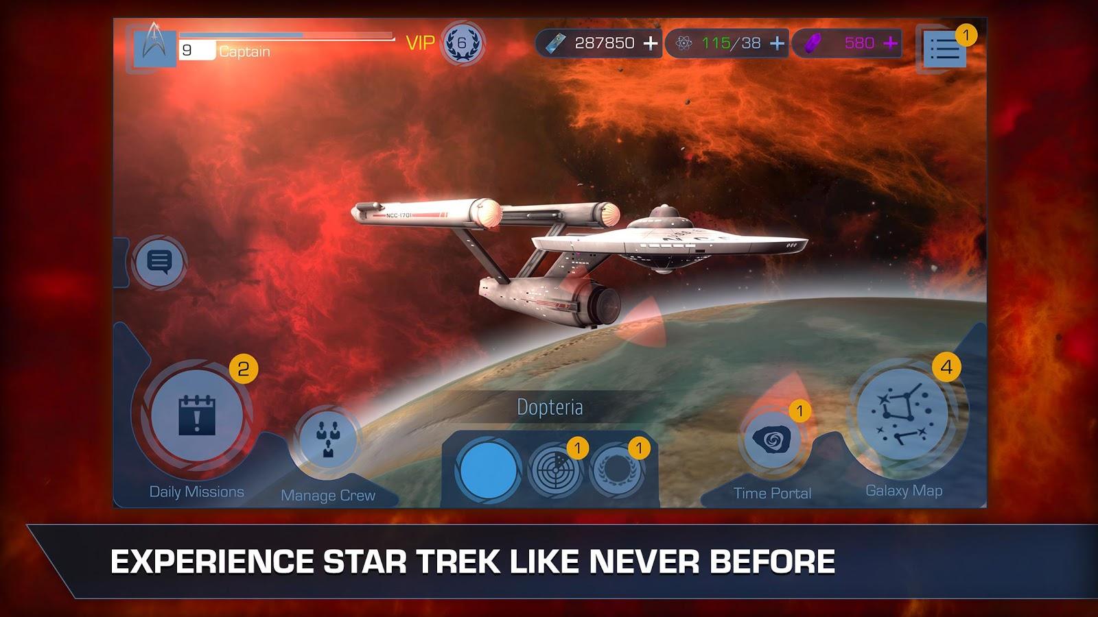 star trek timelines ships