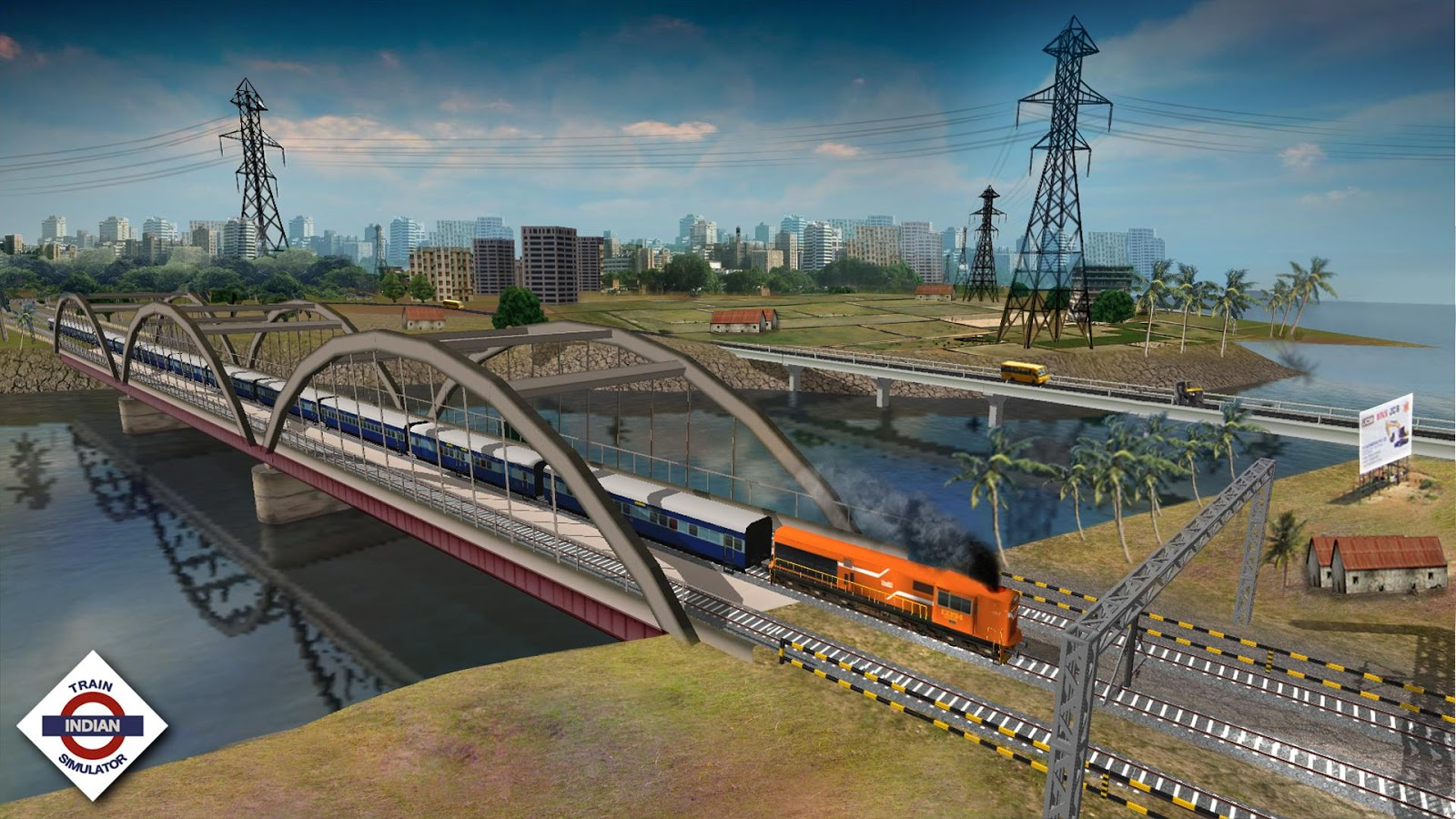 Down-load a game Indian Train Simulator For Android tablets