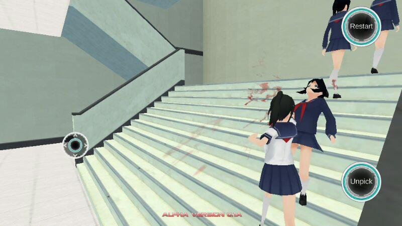 yandere simulator sur tablette